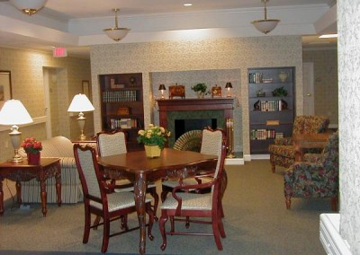 Collier Assisted Living Center Commons Area