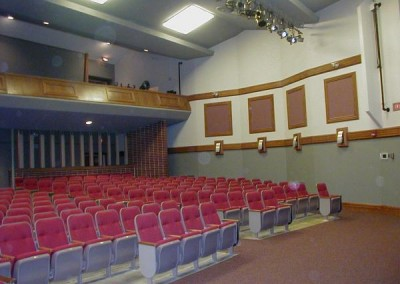 AFTER Ellinwood Auditorium