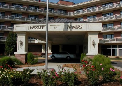 The Towers Apartments Entrance