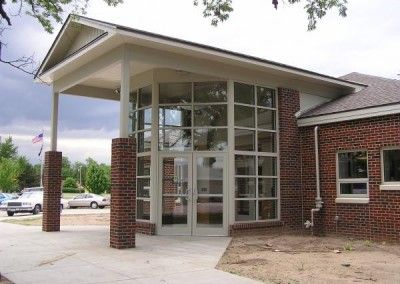 Administration Building Entrance